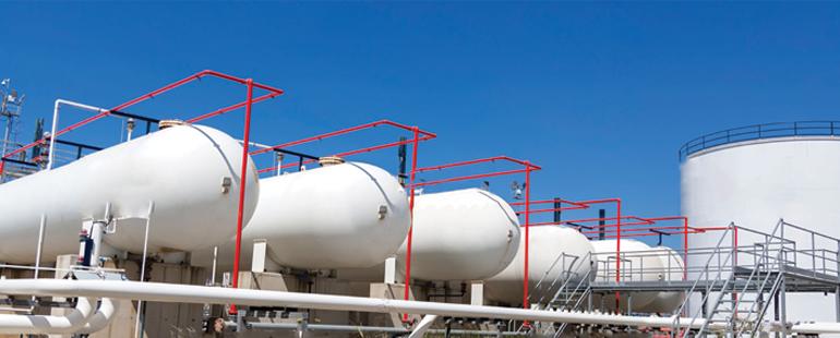 مشاريع غاز البترول المسال تسليم المفتاح (TURN-KEY)