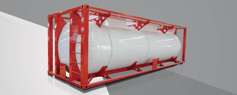 ISO صهريج الغاز المسال