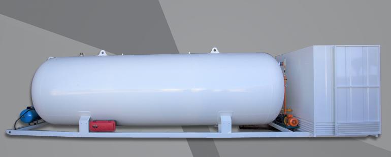 صهاريج سكيد الغاز المسال