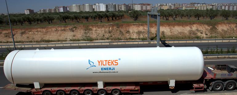صهاريج تخزين الغاز المسال