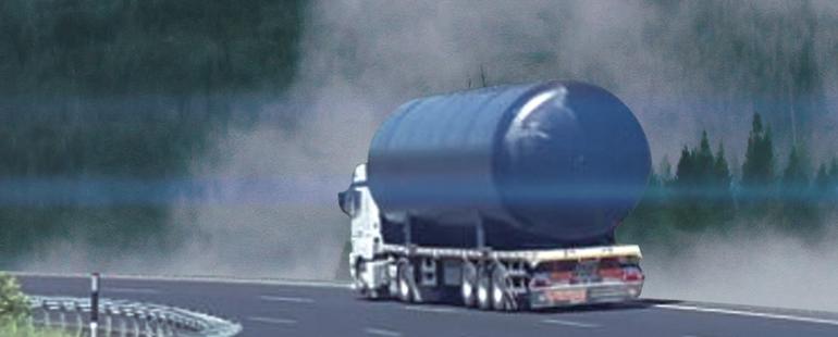 غاز البترول المسال تحت الأرض خزان